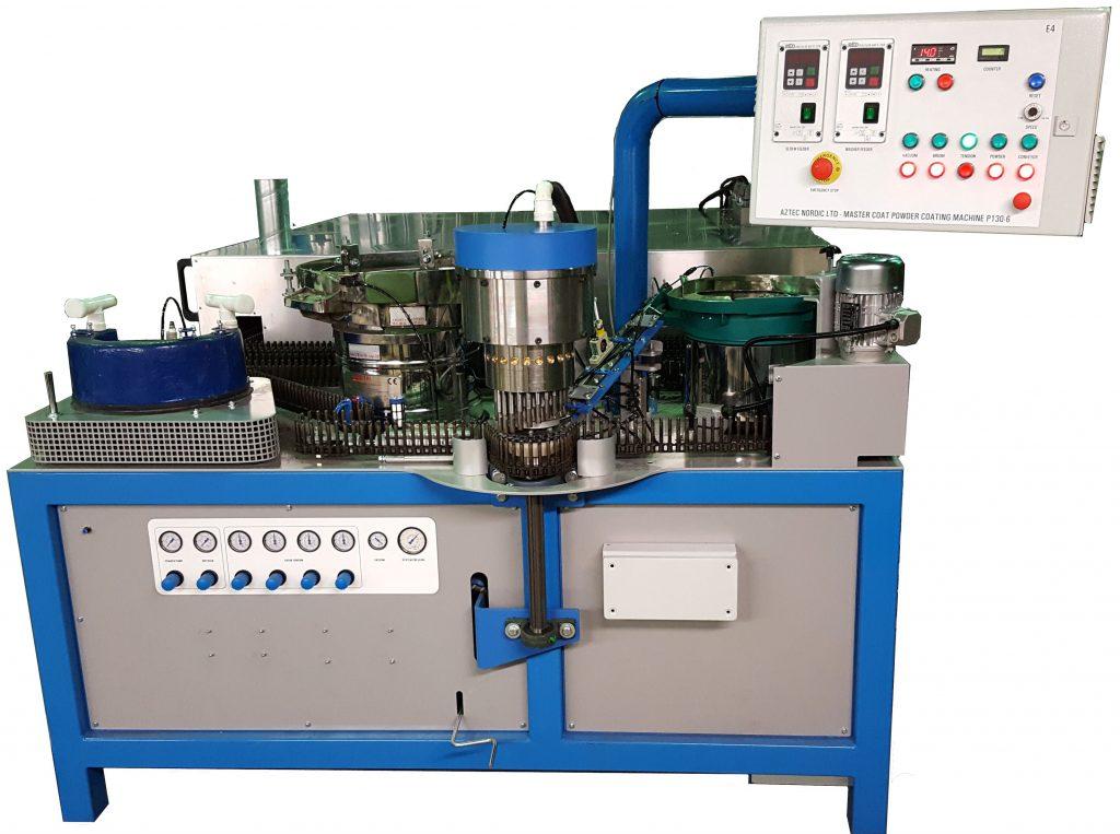 The new Master Coat™ P130 series machine.